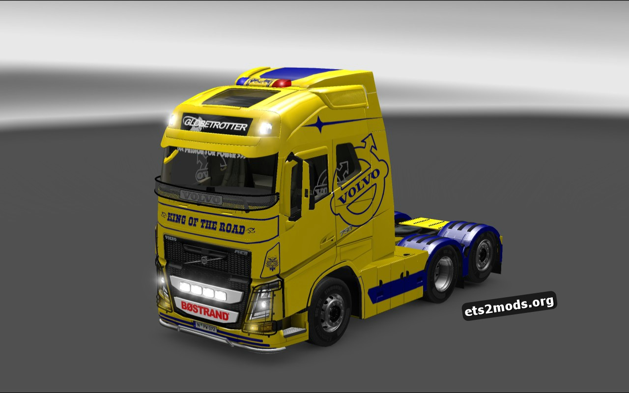 King Of The Road Skin for Volvo 2013