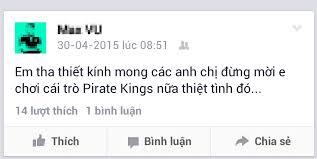 khó chịu với game Pirate Kings