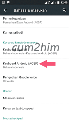 Cara Mematikan Suara Keyboard Android lollipop,marshmallow