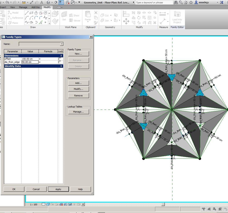 Ahmed HALIM: Al-Bahar Towers using Adaptive Components For REVIT