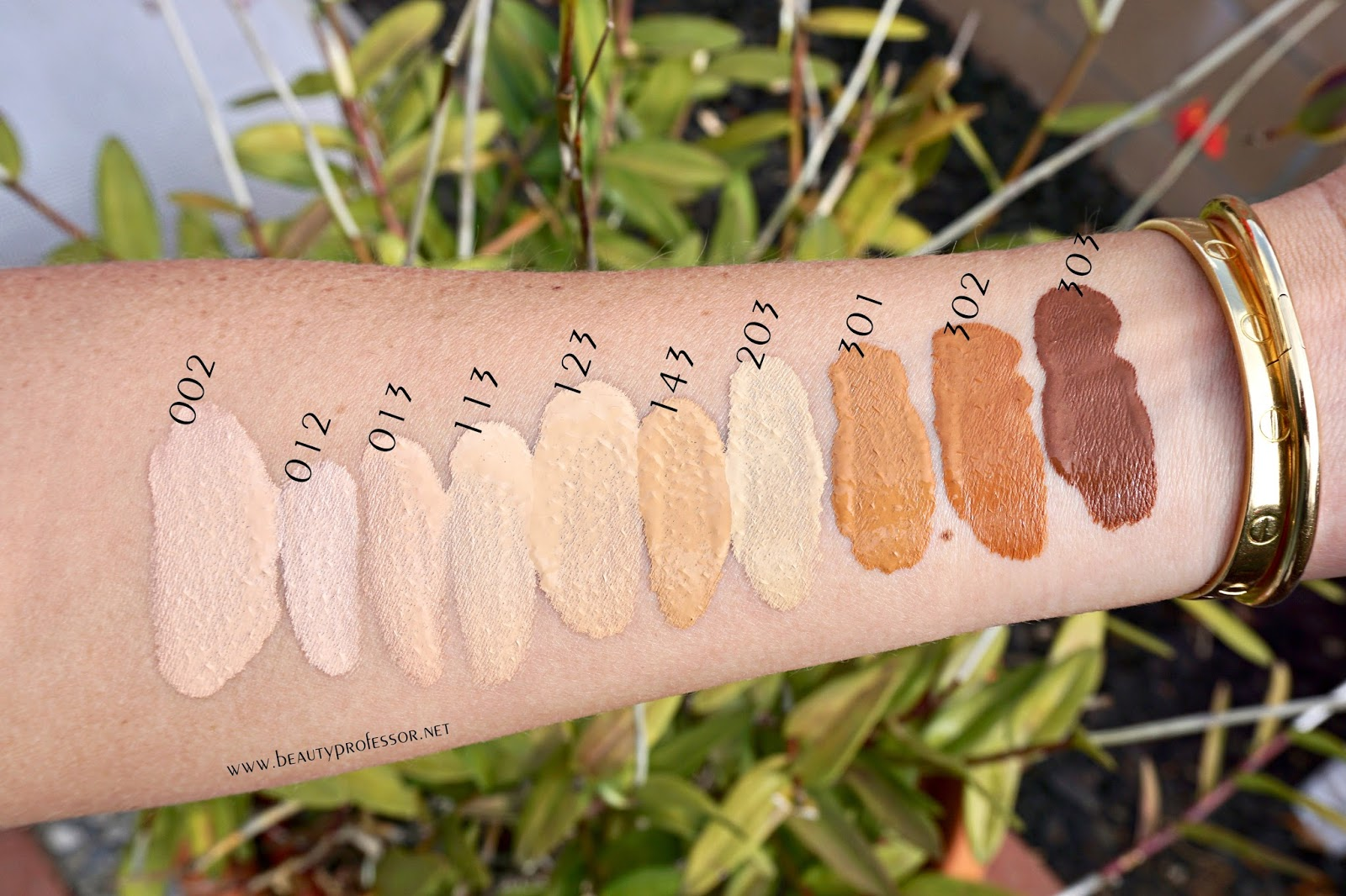 koh gen do aqua foundation new swatches