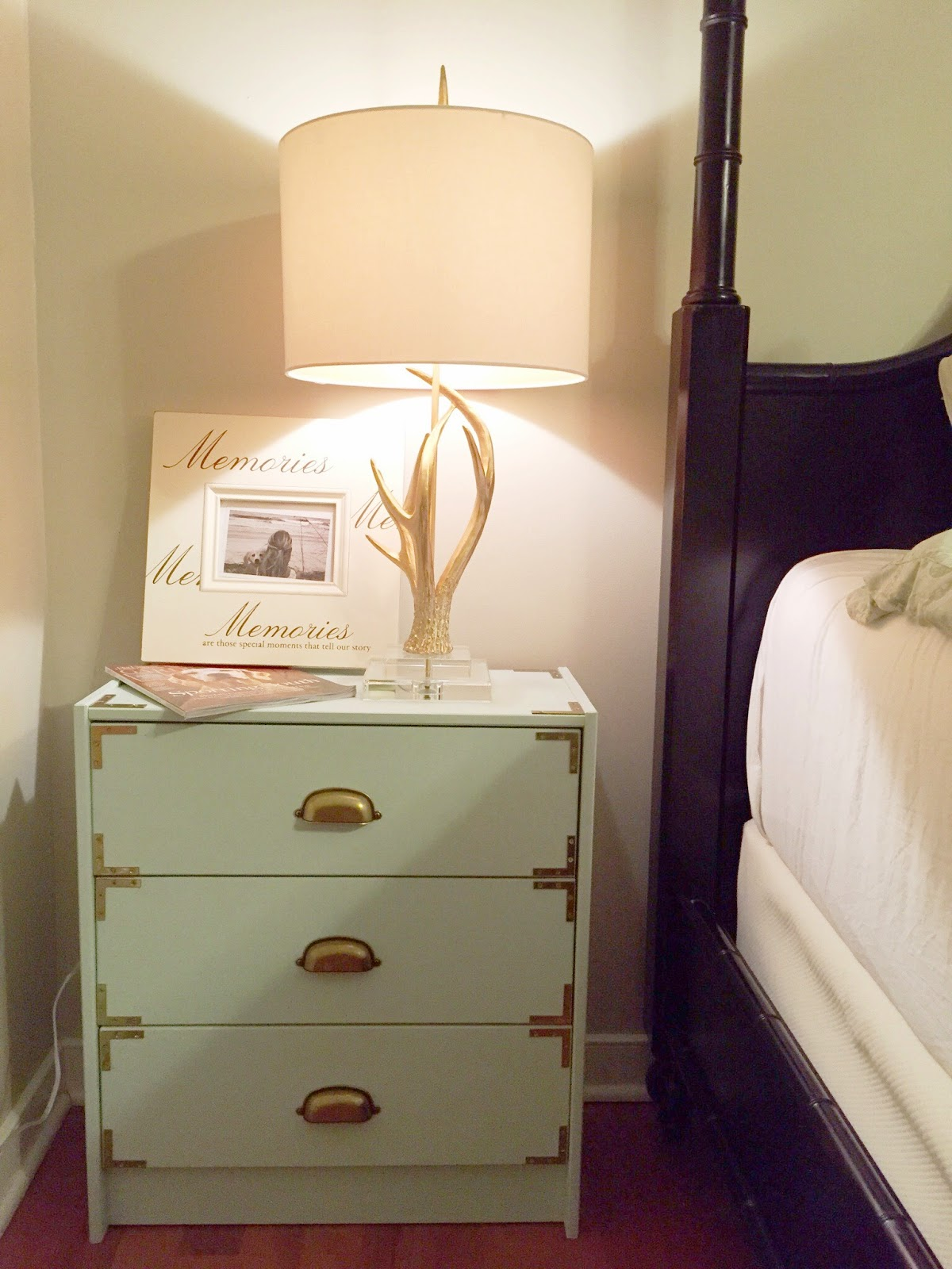 Attention To Darling Diy Ikea Hack Chic Rast Bedside Tables