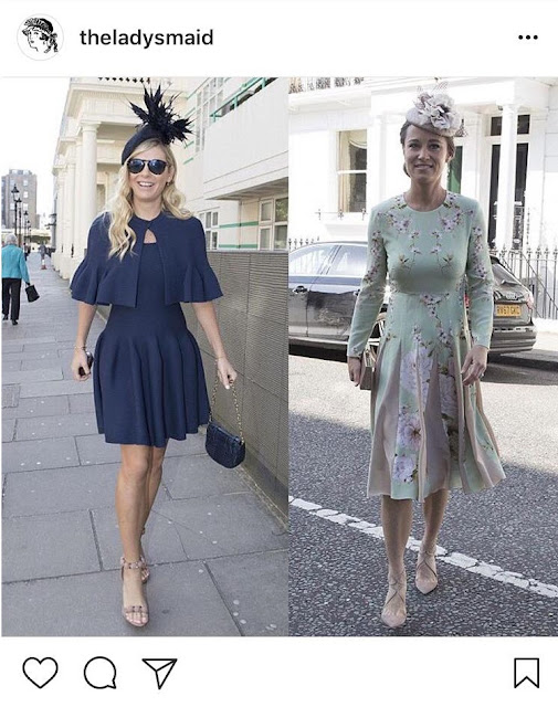 Chelsy Davy Shoes at the Royal Wedding