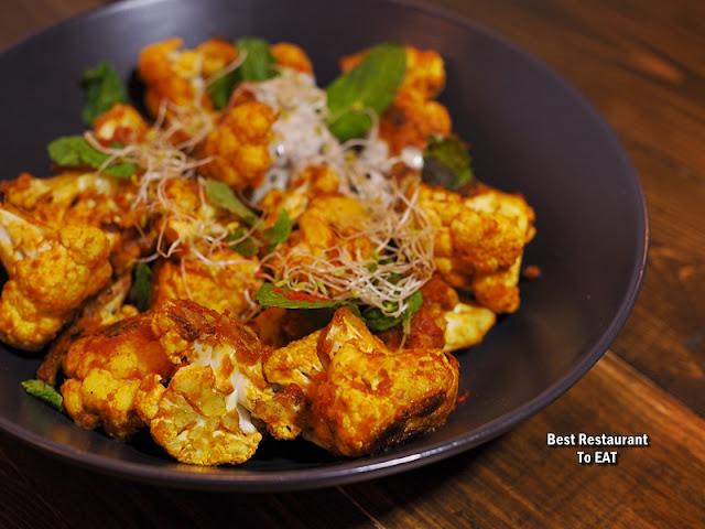 URBAN DAYBREAK BANGSAR Menu - Roasted Curry Cauliflower