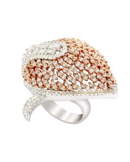 Fire & Ice: Dual Tone Gold Jewellery by Minawala