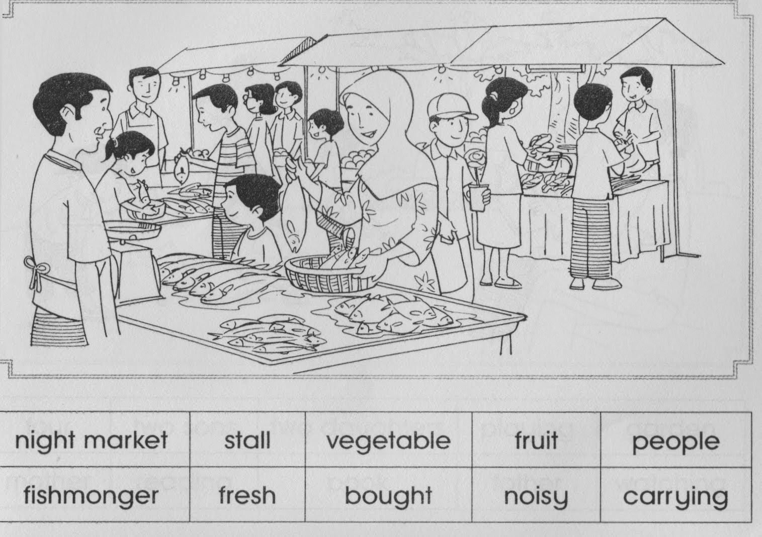 Night market essay upsr
