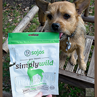Sojos Simply Wild dog treat review