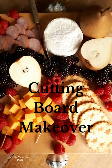 Cutting Board Makeover