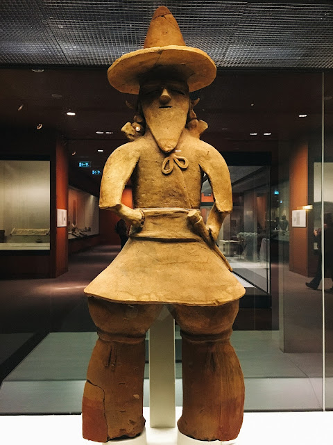 埴輪 武人(Tomb figure of a chieftain)