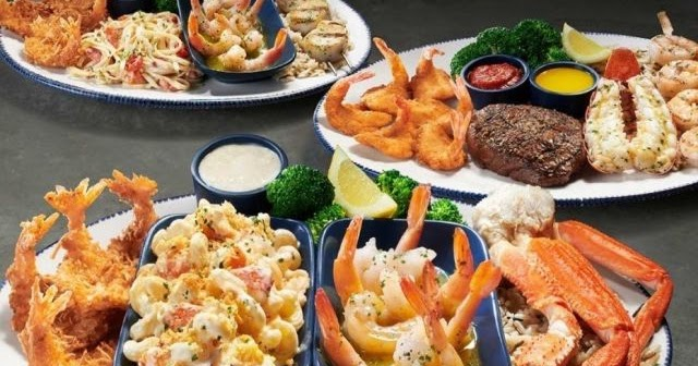 """Current Olive Garden Menu: Red Lobster Unveils New """"Create Your Own Ultimate Feast"""