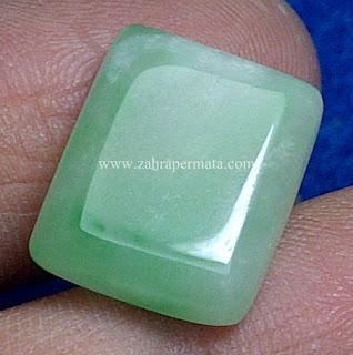 Batu Giok Burma Type A + Memo - ZP 608