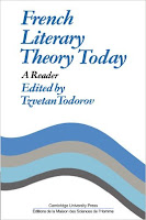 """French literary theory today"" - T. Todorov"