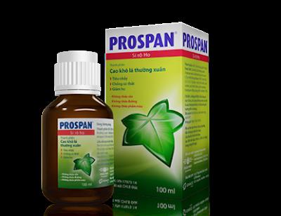 Thuốc ho Prospan còn được gọi với tên thuốc ho con ếch