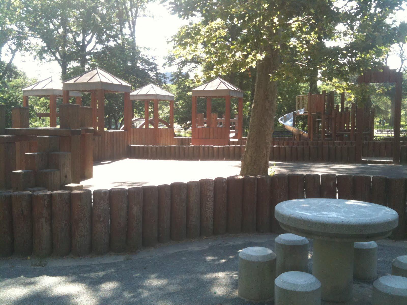 New York City Park Hopper Wild West Playground Central Park