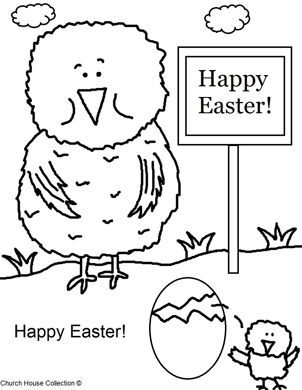 Church House Collection Blog: Cave City School Easter