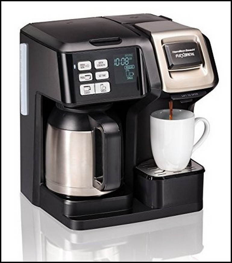 Single Serve Coffee Maker With Thermal Carafe