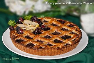 Pastaflora (o pastafrola) de Manzana y Moras