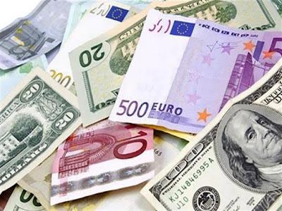 سوق العملات, اليورو والاسترليني, الجنيه المصري,