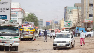 Hargeisa has lots of noise in the streets