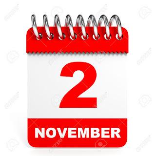 Peristiwa dan Kejadian Penting Tanggal 2 November