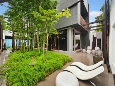 Stylish Office Terrace Boards Coating
