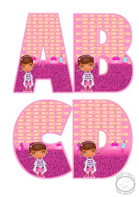 abecedario doctora juguetes