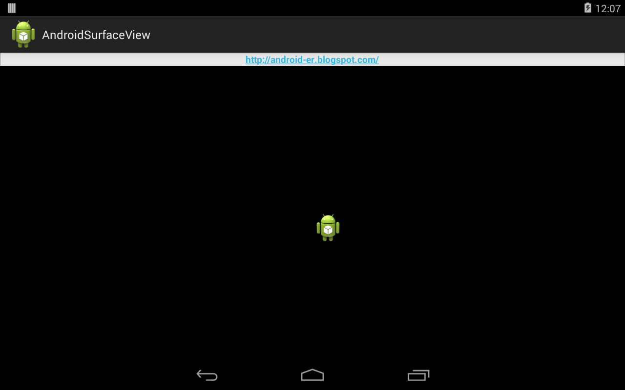 Android er simple surfaceview example - Er finestra android ...