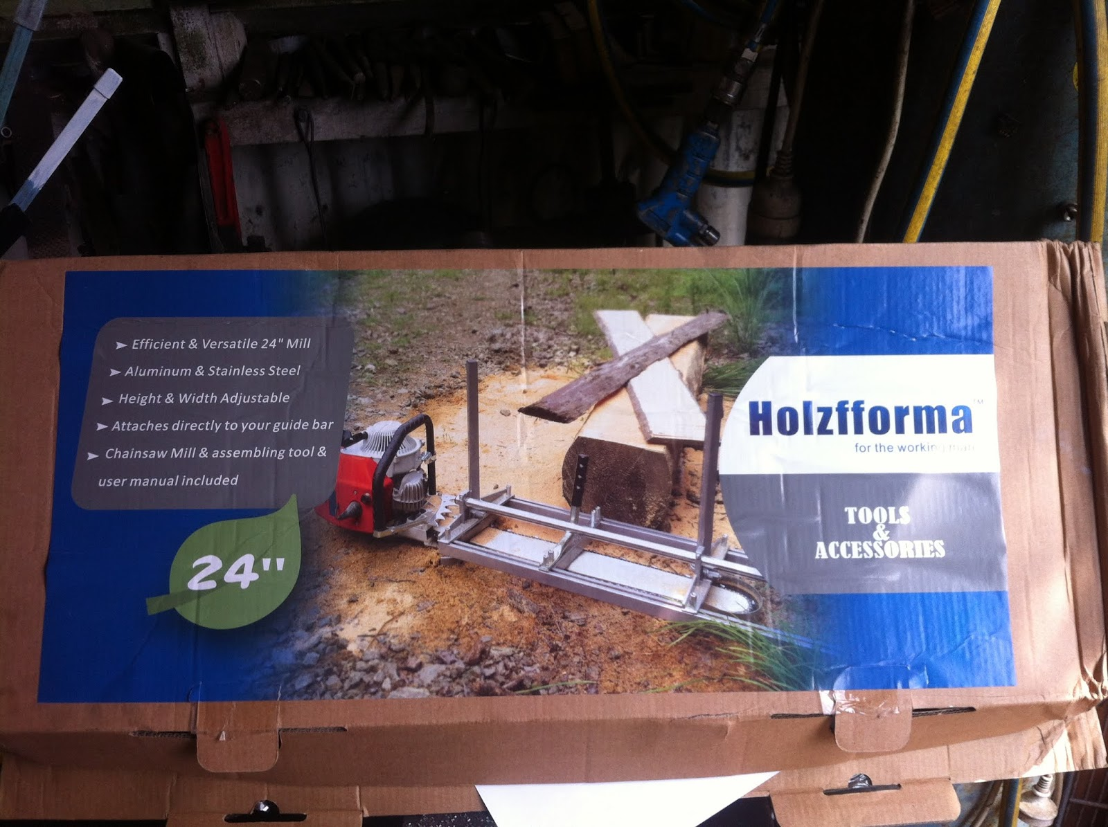 Bruce Teakle's Pages: Holzfforma/Huztl Alaskan Chainsaw Mill