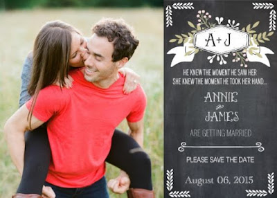 Unas Originales invitaciones de boda que puedes hacer gratis