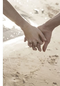What come's in my mind?: Holding Hands Teen Couple