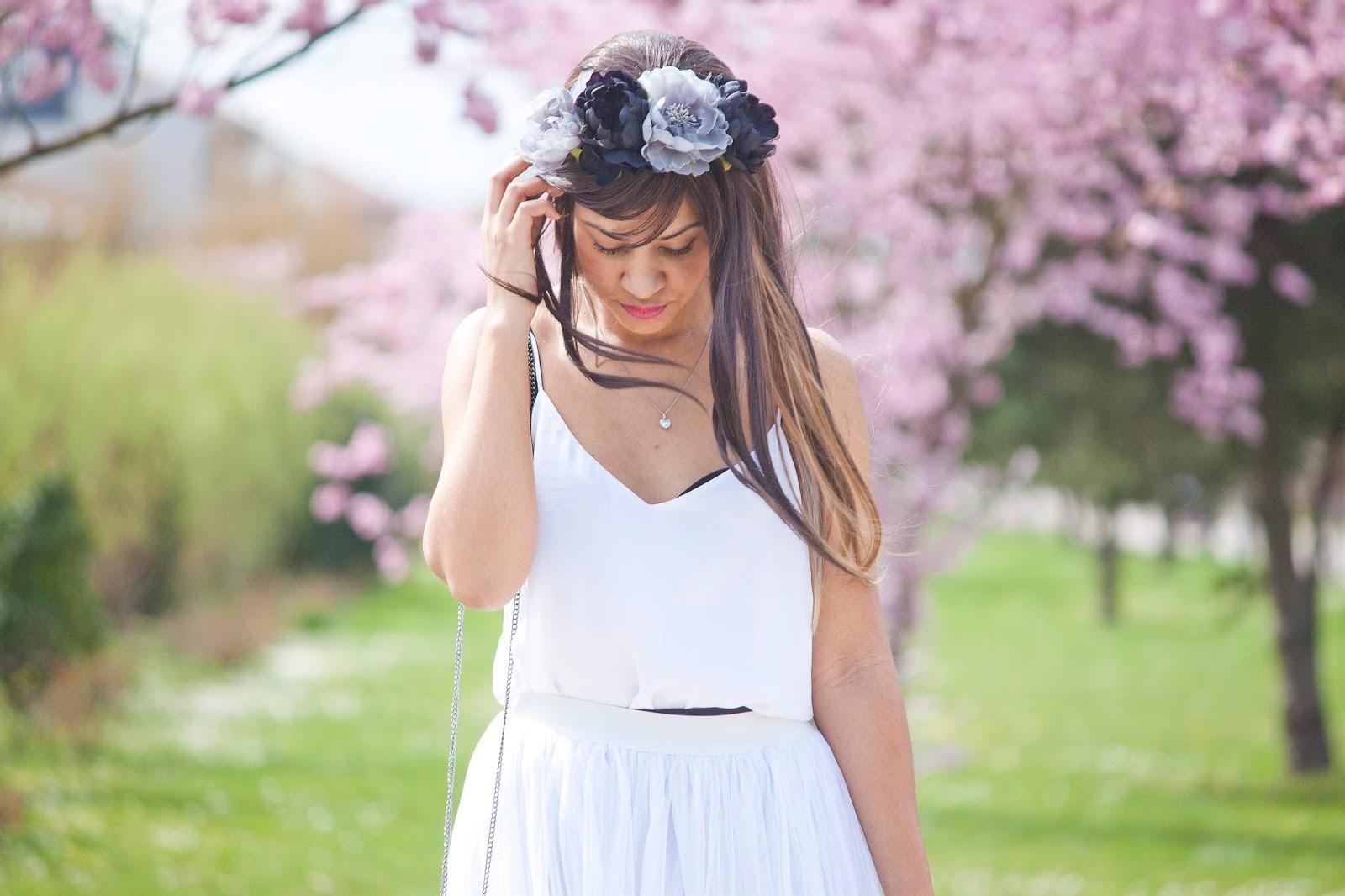 printemps blanc