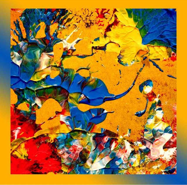esarfa artistica pictata matase India