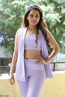 Tanya Hope in Crop top and Trousers Beautiful Pics at her Interview 13 7 2017 ~  Exclusive Celebrities Galleries 010.JPG