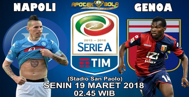 Prediksi Napoli vs Genoa 19 Maret 2018