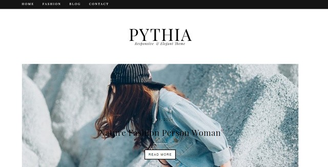 Pythia Responsive Blogger Templates
