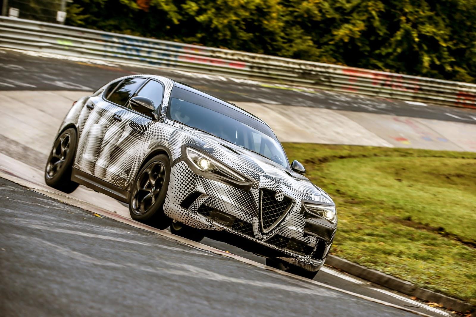 2017 - [Alfa Romeo] Stelvio [Tipo 949] - Page 31 Alfa-Stelvio-QV-Ring-11
