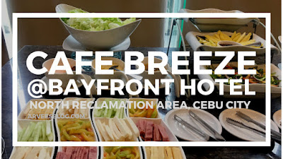 Cafe Breeze Buffet Restaurant is an eat all you can restaurant situated at the hotel lobby of Bayfront Hotel Cebu