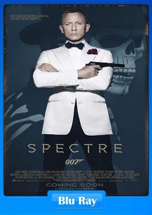 Spectre 2015 480p BRRip 450MB x264 Poster