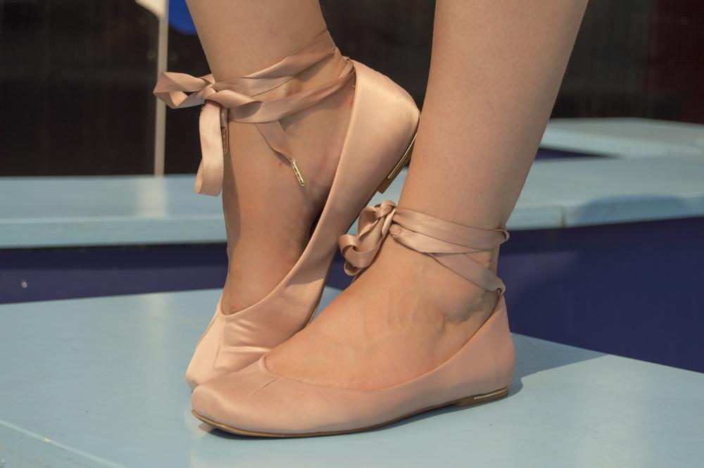stradivarius ballerina ballet flats
