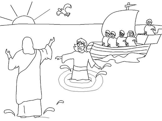 Desenhos Biblicos Para Colorir Pintar Imprimir Vi Pintando O Sete