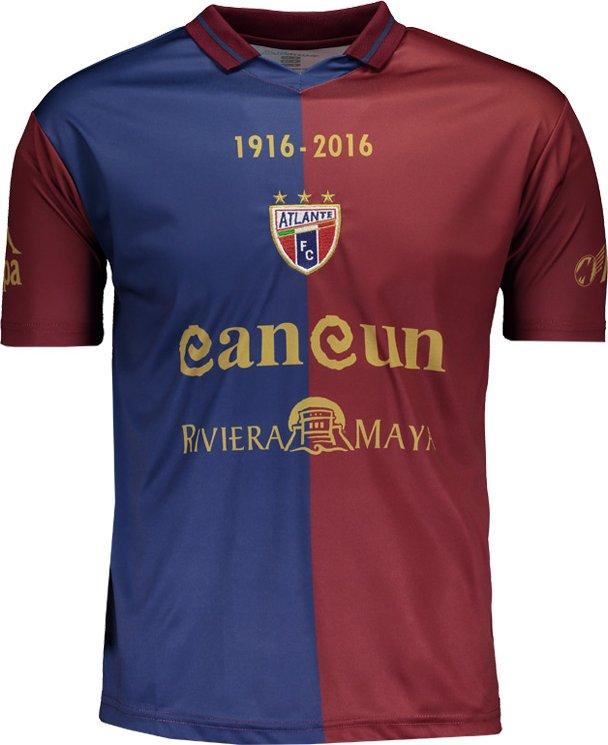 Kappa divulga camisa do centenário do Atlante - Show de Camisas 7ea8ad80c394c