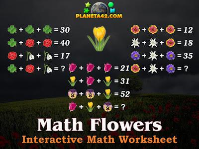 Математически Цветя