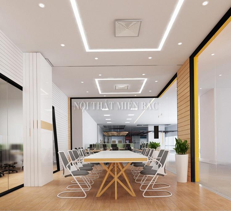 Tận dụng hiệu ứng ánh sáng khi thiết kế nội thất phòng họp