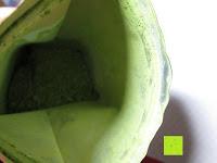 Tüte innen: 100g Original Japanischer BIO Matcha Pulver aus Uji Japan - Für Grüntee-Latte, Coldbrew Matcha, Smoothies, Backen. 0,16/Portion