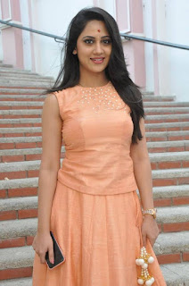 Actress Miya George Stills at United Kireeti Movies Ltd Production No 8 Movie Opening 0014.jpg