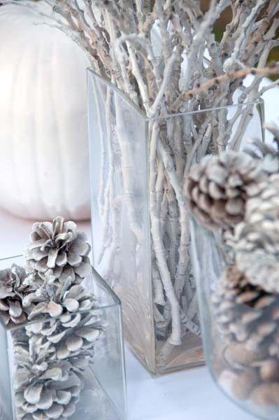 Winter White Decor Rous