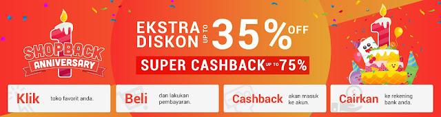 ulang tahun shopback cashback promo harga belanja online