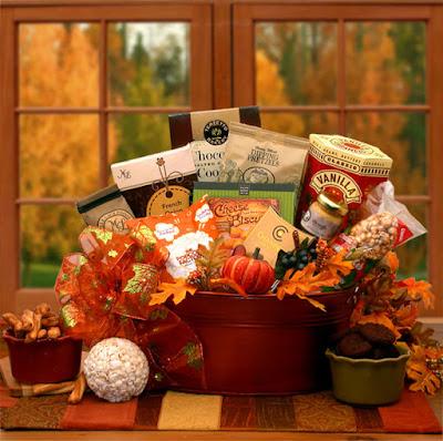 Kim's La Bella Baskets Fall Gift Baskets Taste of Fall