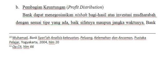 Contoh Footnote dari Jurnal