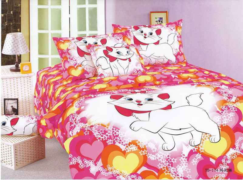 Cat Print Bedding Sets